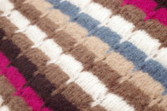 Woolen texture Stock Images