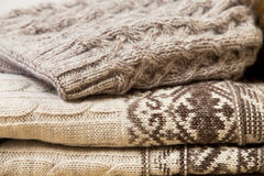 Woolen texture Royalty Free Stock Photos