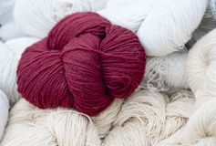 Woolen thread Royalty Free Stock Photography