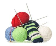 Woolen thread Stock Photos