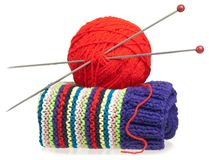 Woolen thread Stock Photography