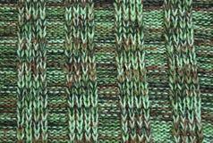 Woolen torkduk för textur Arkivbild