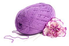 Woolen yarn Royalty Free Stock Photography