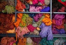 Woolen yarn Stock Image