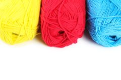Woolen yarn Stock Photos