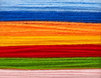 Woolen yarn Royalty Free Stock Images