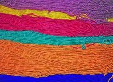 Woolen yarn Stock Photo
