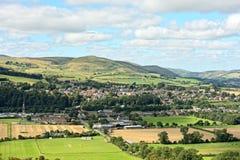 Wooler, le Northumberland, Angleterre, R-U photo stock