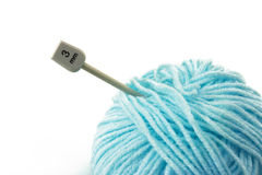 Woollen ball Royalty Free Stock Images