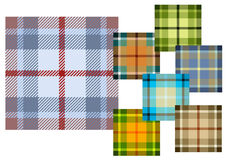 Woollen cloth. Background different colours, vector illustration, AI file included Royalty Free Stock Photography