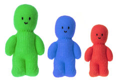 Woollen Dolls Stock Photography