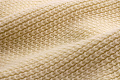 Woollen fabric. Close-up shot of soft woollen fabric Stock Photography