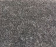 Woollen Grey Fabric. Goats wool natural undyed  grey fabric Stock Images