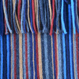 Woollen multi coloured background Stock Photo