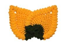 Woollen napkin Stock Photo
