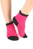 Woollen socks. Stock Photos