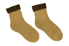 Woollen socks Royalty Free Stock Photos