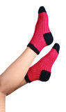 Woollen socks Stock Photography