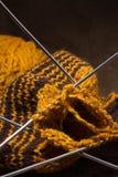 woollen stickascarf Arkivbilder