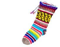 Woollen stocking Stock Image