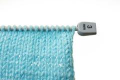 Woollen texture Stock Images