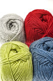 Woollen thread - yarn Royalty Free Stock Photos