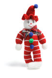 Woollen Toy Clown Royalty Free Stock Photography