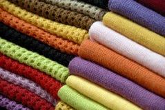 Woollens abstracto Fotografía de archivo libre de regalías
