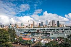 Morning at Woolloomooloo Bay, Sydney, Australia. Woolloomooloo Bay, Sydney, Australia -September 03, 2018: Sydney City Views and at Woolloomoolo Bay with Royal Stock Images