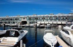 Woolloomooloo bay in Sydney, Australia. Stock Images