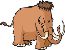 Woolly Mammoth Royalty Free Stock Image