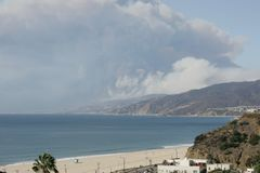 Woolsey, Malibu, Calabasas, Thousand Oaks Wildfire. royalty free stock images