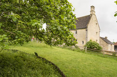 Woolsthorpe Manor. In Woolsthorpe-by-Colsterworth, near Grantham, Lincolnshire, England, is the birthplace and was the family home of Sir Isaac Newton. He was Royalty Free Stock Photos