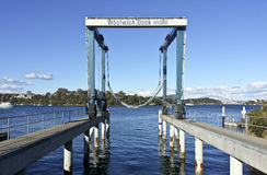Woolwich Dock. One of the great historic shipyards of Sydney Harbour Royalty Free Stock Photography