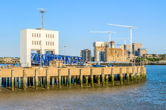 Woolwich Ferry in East London Stock Images