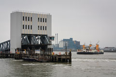 Woolwich ferry, London. Royalty Free Stock Photo