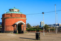 Woolwich Foot Tunnel in East London Stock Photo