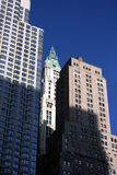 Woolworth Building. From financial district in New York City Stock Photography