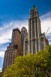 The Woolworth Building in Lower Manhattan, New York. Royalty Free Stock Photography