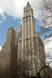 Woolworth Building, lower Manhattan Royalty Free Stock Image