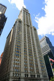 Woolworth Building in New York City Royalty Free Stock Photos
