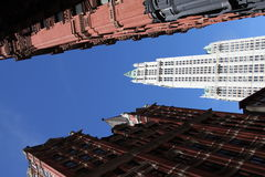 Woolworth building New York City, Manhattan Stock Photography