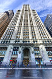 Woolworth Building - New York Royalty Free Stock Photos