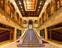 Woolworth Building - New York. Interior of the Woolworth Building in New York City, USA. It was the tallest building in the world from 1913-1930 Royalty Free Stock Photography