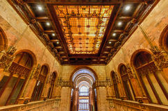 Woolworth Building - New York. Interior of the Woolworth Building in New York City, USA. It was the tallest building in the world from 1913-1930 Stock Photo