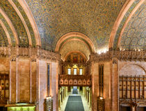 Woolworth Building - New York. Interior of the Woolworth Building in New York City, USA. It was the tallest building in the world from 1913-1930 Royalty Free Stock Images