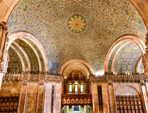 Woolworth Building - New York. Interior of the Woolworth Building in New York City, USA. It was the tallest building in the world from 1913-1930 Royalty Free Stock Image