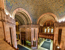 Woolworth Building - New York. Interior of the Woolworth Building in New York City, USA. It was the tallest building in the world from 1913-1930 Royalty Free Stock Photos