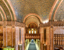 Woolworth Building - New York. Interior of the Woolworth Building in New York City, USA. It was the tallest building in the world from 1913-1930 Royalty Free Stock Photo