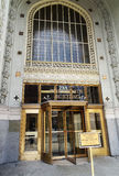 Woolworth Building, New York. Woolworth Building main entrance, New York. United State of America Royalty Free Stock Photo